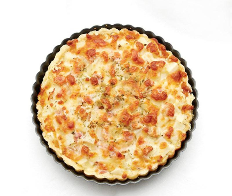 How to Make an Easy Tasty Quiche with a Deep Quiche Pan?